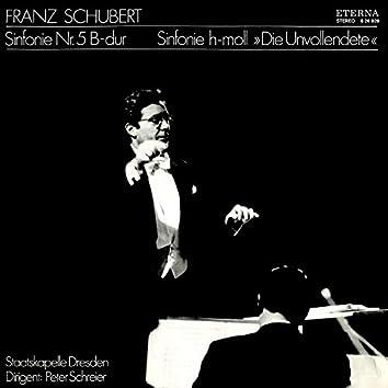 """Schubert: Sinfonien No. 5 & 7 """"Die Unvollendete"""""""