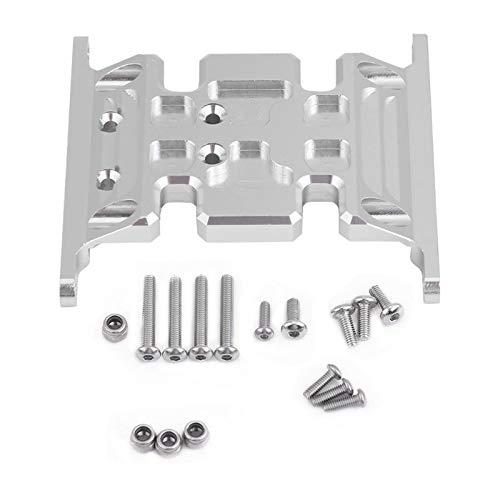 Vehicles-OCS Silver Aluminum Alloy RC Accessory Part Gear Box Mount Holder and Vehicles-OCS for SCX10 SCX10 II 90047 TFL RC Crawler Car