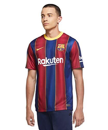 Nike Herren FC Barcelona Stadium Home Trikot, Deep Royal Blue/Varsity Maize, L