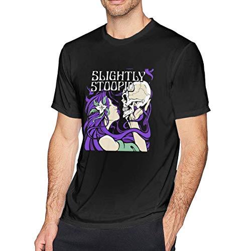 engzhoushi Leichtes St-oo-pid Herren-T-Shirt Baumwolltops Kurzarm-T-Shirt
