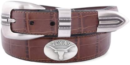 Zeppelin Products Inc NCAA Texas Longhorns Leather Concho Belt