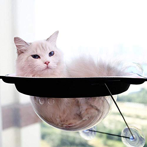 Cama De Gato Flotando, Colgando Gato Casa, Asiento para Gatos, Hamaca Cápsula De Espacio Cápsula, Perchas De La Ventana De Gato Montadas En La Pared, para Pet 20 Kg