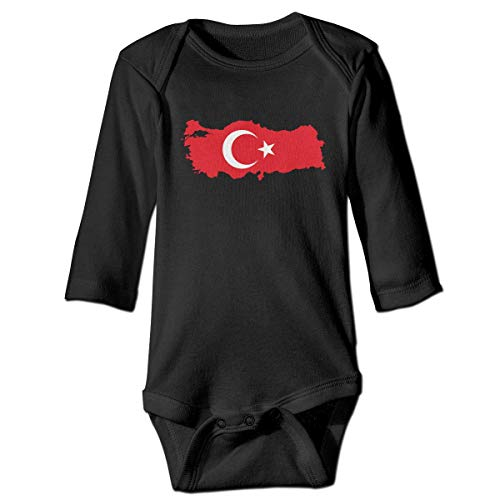 Klotr Barboteuse Bébé, Middle East Unisexe Combinaison Pyjamas Coton Grenouillère Manches Longues Body