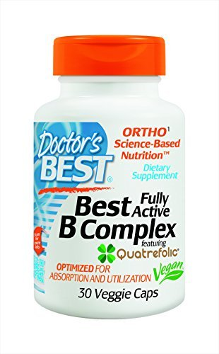 Doctor's Best Fully Active B Complex Nutritional Supplement, 30 Count (Pack of 3)