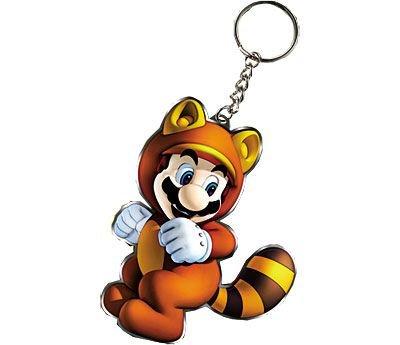 Porte clés Super Mario 3D Land - Objet dérivé