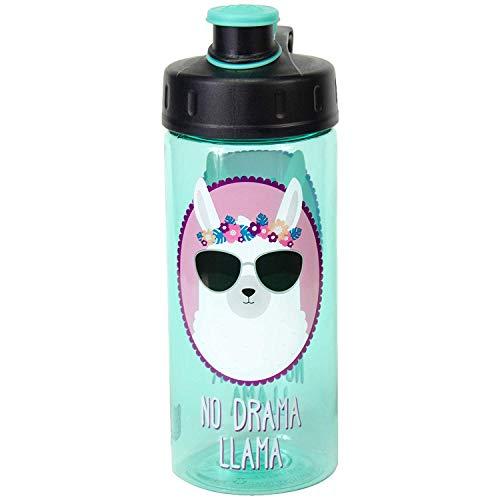 COOL GEAR Chug No Drama Llama 16 Oz Water Bottle