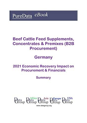 Beef Cattle Feed Supplements, Concentrates & Premixes (B2B Procurement) Germany Summary: 2021 Economic Recovery Impact on Revenues & Financials