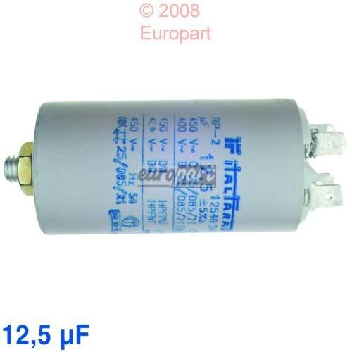 Kondensator 12,5 µ F, 450 Volt Steck