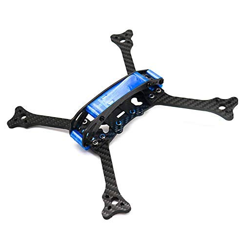 GzxLaY FPV Drone Frame Kit Joe 215 Wheelbase 215mm 5mm Arm Carbon Fiber for RC Drone FPV Racing Frame Kit Quadcopters Parts Accessories (Color : Frame Kit) (Color : Frame Kit)
