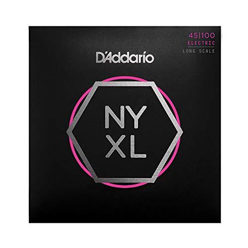 D'Addario NYXL45100 - Juego de cuerdas bajo