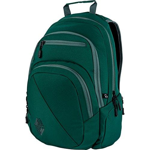 Nitro Stash Rucksack Schulrucksack Schoolbag Daypack Damenrucksack Schultasche schöne Rucksäcke Alltag Fahrradtasche, Ponderosa, 29L