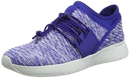 FitFlop Artknit Angeline Lace Up Sneaker, Zapatillas Mujer, Azul (Illusion Blue 671), 41 EU