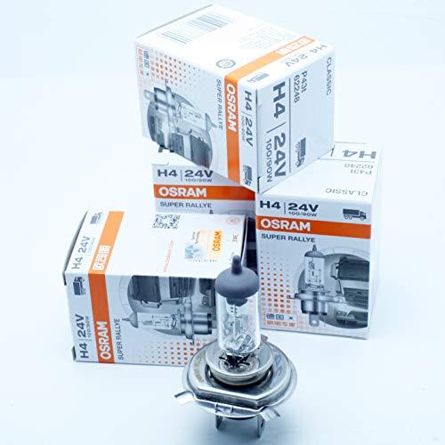 Preisvergleich Produktbild OSRAM H4 P43t 100 / 90 W 24 V SUPER RALLYE OFF-ROAD LKW 10 ST.