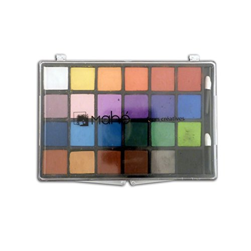 Toga CC01 Boîte de 24 craies Craie Multicolore 20 x 16,5 x 1,5 cm