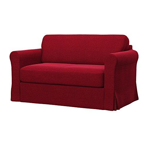 Soferia - IKEA HAGALUND Funda para sofá Cama, Classic Red