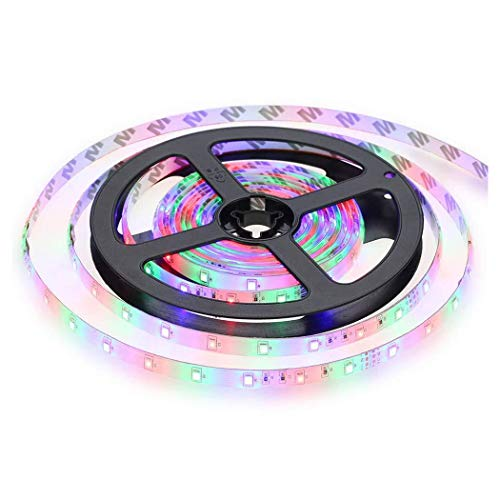 WEIKI LED Strip Light LED Rope Lighting Color Changing Kit with 44-Keys IR Remote Controller 2