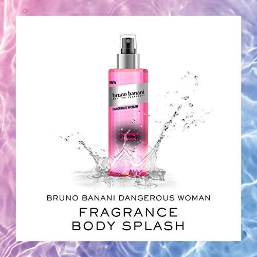 Coty Beauty Germany GmbH, Consumer Bruno banani dangerous woman body splash fruchtig floraler duft für sie 250ml