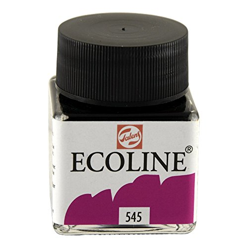 Royal Talens Ecoline Liquid Watercolor, 30ml Bottle, Red Violet (11255450)