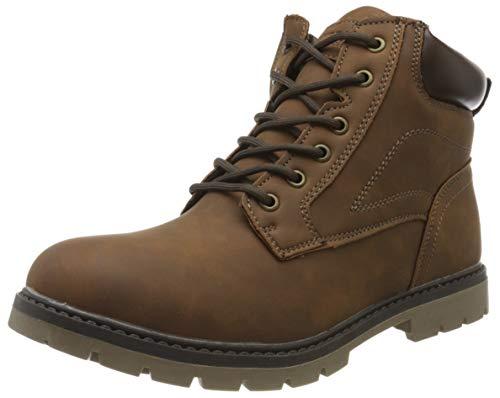 Urban Classics Unisex-Erwachsene Basic Chukka Boots, Braun (Darkbrown 02266), 42 EU
