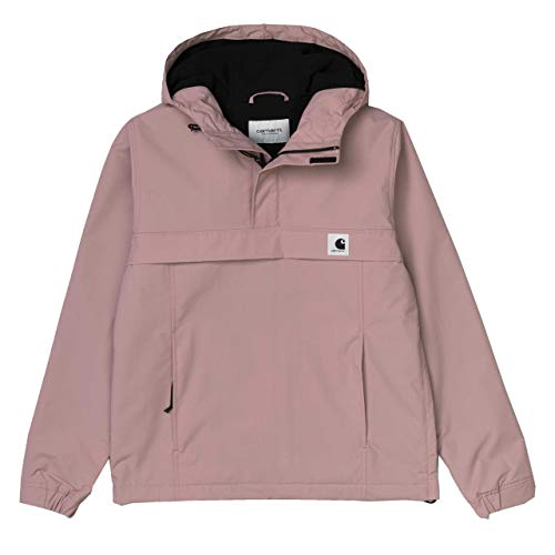 Carhartt WIP Damen Winter Supplex-Nylon Nimbus Pullover mit Fleecefutter Pink 10525 M