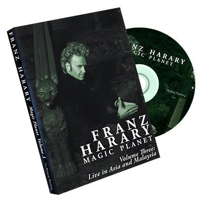 Magic Planet vol. 3: Live in Asia and Malaysia by Franz Harary and The Miracle Factory - DVD
