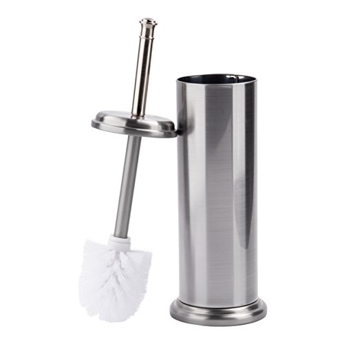 LDR 164 M6459BN Toilet Brush with Canister Brushed Nickel Finish