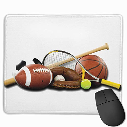 Smooth Mouse Pad Sportgeräte Mobile Gaming Mousepad Work Mouse Pad Office Pad