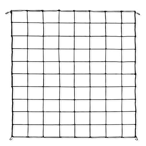 VIVOSUN 1Pack 3x4FT Elastic Trellis Netting with Hooks for Grow Tents