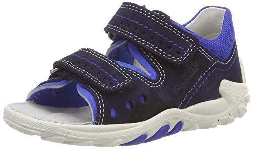 Superfit Baby Jungen Flow Sandalen,Blau (Blau 81),23 EU