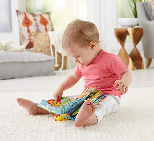 フィッシャープライスシグニチャーシリーズおでかけ布えほん赤ちゃん幼児布のおもちゃ指遊び歯がためベビーカー用おもちゃFGJ40