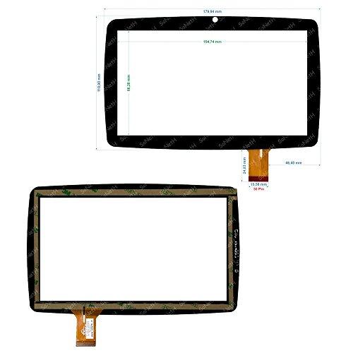 Vetro Touch Screen Digitizer 7,0  Lisciani Mio Tab Smart Kid MP0100884 Nero