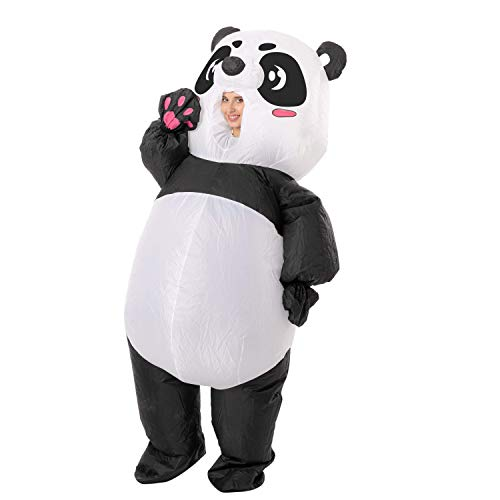 Spooktacular Creations Halloween Inflatable Costume Panda Full Body Inflatable Costume - Adult Unisex One Size