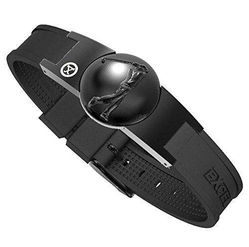 ProExl Golf Magnetic Bracelet in Black With Black Detachable Marker and Gift Box (Full Swing)