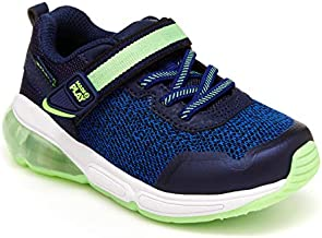 Stride Rite Made2Play Radiance Bounce Kids' Tennis Shoes & Toddler Sneakers for Boys, Blue/Green, 10 Toddler