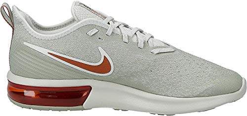 Nike - Air Max Sequent 4 - Chaussures Athlétiques - Homme - Multicolore (Light Bone/Dark Russet/Spruce Fog/Black 007) - 44 EU