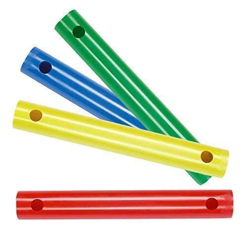 Moveandstic 4er Set 35er Rohre blau,grün,gelb,rot