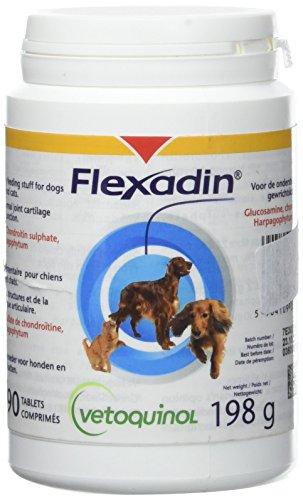 VETOQUINOL Flexadin Integratore alimentare Bottiglia di 90 compresse secche