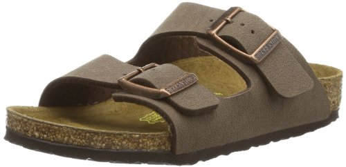Birkenstock Boys Kids Arizona Mocca Narrow Fit Sandals Size...