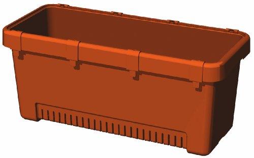 大和プラスチック 菜園プランター しゅうかく菜 700型 700×300×H300 ブラウン