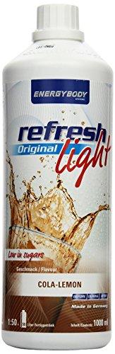 Energybody Refresh Light Cola-Lemon, 1er Pack (1 x 1 l)
