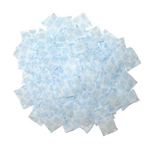 100 Packets 2 Gram Silica Gel Desiccant Moisture Absorber Dehumidifier Food Contact Safe