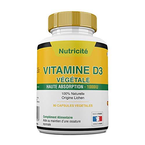 Vitamine d3 1000 ui Fabriquée en France –...