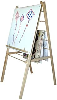 product image for Beka Single-Sided Big Book Easel with Markerboard, 47-1/2 in H X 24 X 24 in