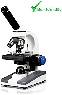 Vision Scientific VME0005-CX-RC Beginner Monocular Coaxial Focusing Microscope LED rechargeable