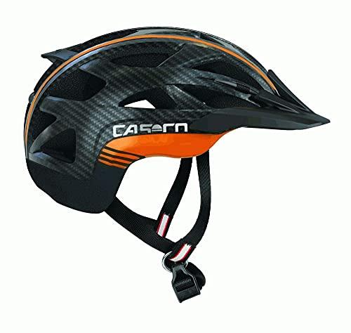 Activ 2 Black Carbon orange L = 58-62 cm Casco Fahrradhelm, Allrounder