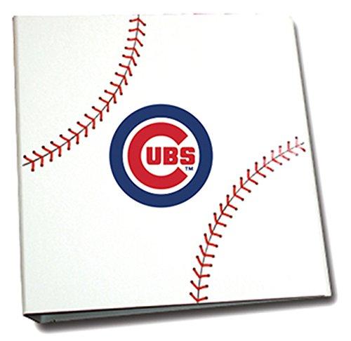 Chicago Cubs 3 Ring Binder - 1