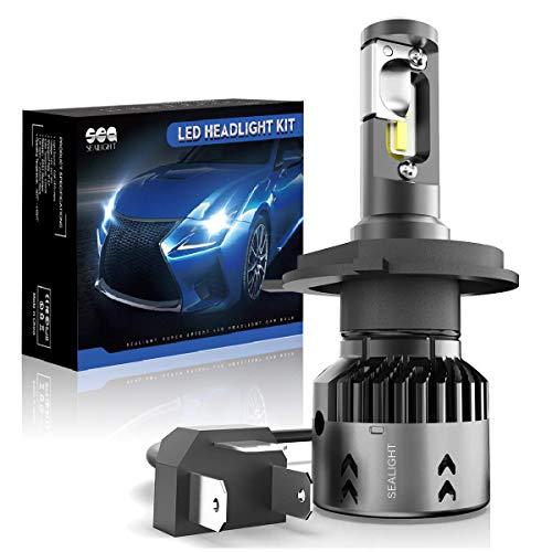 h4 high low led lights - 7
