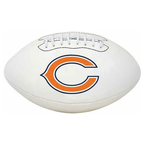 NFL Signature Series Full Regulation-Size Football, Chicago Bears