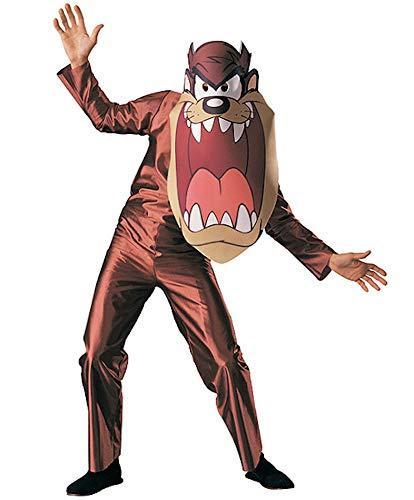 Rubie's-déguisement officiel - Looney Tunes - Costume Adulte Taz - Taille Standard- P15560