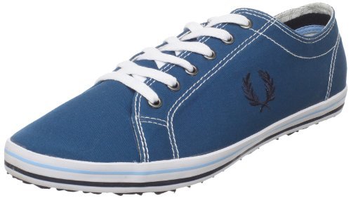 Fred Perry Hombre Kingston Twill Tipped Zapatillas de Gimnasia